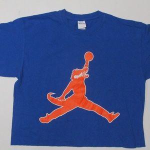 U of Florida (Basketball) Cropped T Shirt Size M